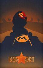 155123 Vintage Mario Kart Wall Wall Print Poster AU