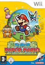 Nintendo Wii Spiel - Super Paper Mario (mit OVP)