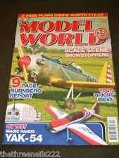 R C MODEL WORLD - YAK-54 ON TEST - APRIL 2009 (WITH PLANS)