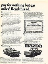 1977 Mazda - rx4 truck rx3 - Classic Vintage Advertisement Ad D28