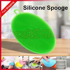 Multifunction Silicone Washing Sponge Kitchen Cleaning Bowl Pan Bowl Dish Brush