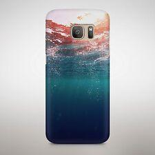 Subacquea Ocean Current vista DAYLIGHT Bolle Acqua di Mare Blu Telefono Cover