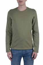 Dolce & Gabbana Men's Green Long Sleeve T-Shirt US S M L XL