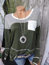 Laura Scott Pulli Shirt Gr. 32/34 - 44/46 weich fallend Oversize (497) NEU