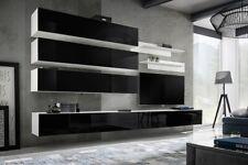 Idea J1 - living room wall unit / contemporary entertainment center / tv stand