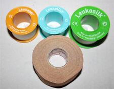 Pflaster Leukosilk® Leukoplast® Leukopor® Leukoflex®, Längen, Breiten u. Mengen