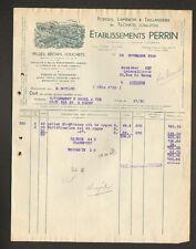 """TILCHATEL (21) FORGES / LAMINOIR / TAILLANDERIE """"Ets. PERRIN"""" en 1939"""