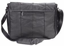 Genuine Leather Cowhide Laptop Messenger Briefcase Satchel Travel Shoulder Bag