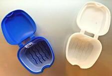 Gebissdose Prothesendose Zahnspangendose Dentalbox Spangendose Prothesenbox Dose