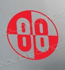 BUCKAROO BANZAI JET CAR 88 decal sticker Yoyodyne Lizardo Blue Blaze