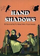 Hand Shadows Book The Cheap Fast Free Post