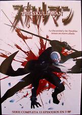 SKULL MAN (COMPLETA 13 EPISODIOS) ISHINOMORI MORI - DVD - NUEVO - MUCHOCHISME