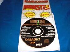 KARAOKE MONSTER HITS CD+G CLASSIC 70's & 80's MALE HITS #1055