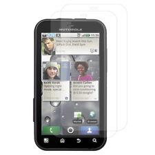Accessori Lotto Pacco Pellicole Protezione schermo per Motorola Defy MB525