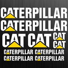Caterpillar CAT XXL aufkleber sticker bagger excavator 10 Stücke Pieces