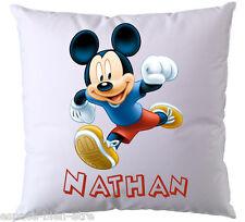 Coussin Mickey Disney personnalisé avec prénom V3