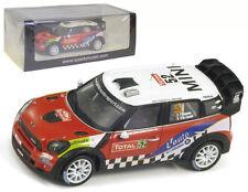 Spark S3350 Mini John Cooper Works #52 Monte Carlo Rally 2012 - P Campana 1/43