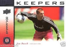 2008 Upper Deck MLS 'Keepers' Complete Set KP1-KP17 Guzan Romando Cannon Busch