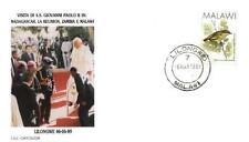 Malawi 1989 Jan Pawel II papież John Paul Pope Papa Papst Giovani Paolo (89/4)