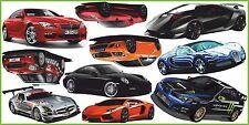 CARS SPORTS Children Wall Sticker Car Sport Decor Stickers Wandsticker SET #2