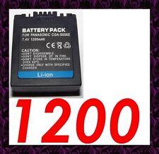 ★ 1200 mAh ★ Batterie Rechargeable CGA/CGR-S006 PANASONIC LUMIX DMC-FZ50EB-K