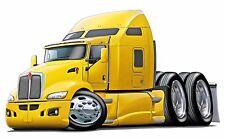 Kenworth 660 Diesel Semi Trucks Big Riggs Wall Decal Sticker Graphic Man Cave
