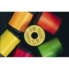 Fly Tying Thread, 3 x Uni Neon Fluo 1/0 for Streamers, Salmon & Saltwater Flies