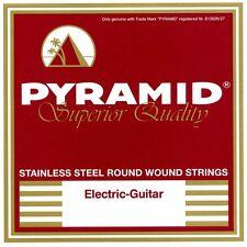 PYRAMID Stainless Steel Round Wound E-Gitarre Saiten SATZ E-Guitar Strings SET