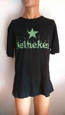 ★  HEINEKEN ★ T Shirt  Star NOIR - Neuf Taille M L XL