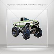 Stickers Sticker Monster truck Helmet Atv Bike polymeric vinyl Garage st7 22399