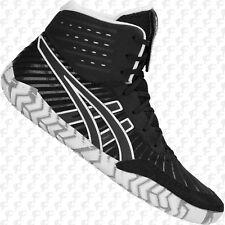 NEW Asics Aggressor 4 Men's Wrestling Shoes 1081A001.001, Black, FREE SHIP