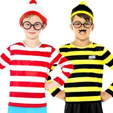 DOV'è Wally o ODLAW Costume bambini storia libro settimana Giorno Costume Bambino Boys