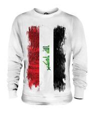 IRAQ GRUNGE FLAG UNISEX SWEATER TOP AL-'IRAQ IRAQI ÎRAQ SHIRT FOOTBALL