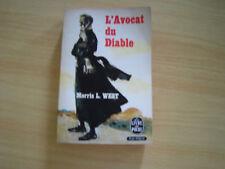 le livre de poche l'avocat du diable - morris l. west