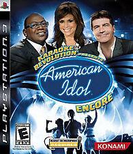 Karaoke Revolution Presents: American Idol Encore SEALED (Sony PlayStation 3)