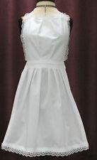 Completo Victoriano Maid Delantal fancydress Escuela-adult/ladies Niño