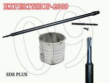 Fresa a Tazza mm 120 CAROTATRICE + ASTA SDS PLUS 600 MM