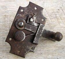 AntiqueFrenchDoor Latch, Handmade