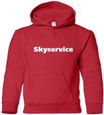Skyservice Retro Logo Canadian Airline Hoody