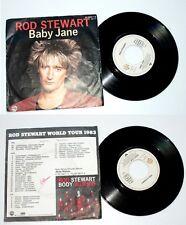 """ROD STEWART  """" BABY JANE """" 1983 . WEA . VG+"""