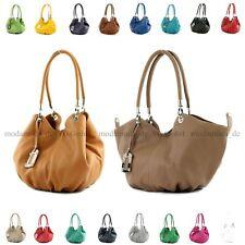 ital. Tasche Damentasche Handtasche Ledertasche Beuteltasche Leder Shopper 228