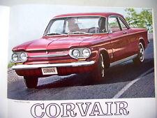 Chevrolet présente ses modèles 1963 Impala Bel Air Chevy II Corvair Corvette