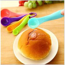 Colorful Plastic Measuring Spoons Set Kitchen Utensil Cooking Baking Tool 5 Pcs
