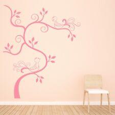 Birds Swirl Tree Wall Decal Sticker WS-18282