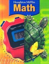 Houghton Mifflin Math, Grade 4, Carole Greenes, Lee Stiff, Very Good Books