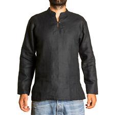 PANASIAM Fisherman Hanf Hemd, Herrenhemd aus 100% Hanf