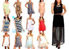 Lot Sexy Mini Short Formal Cocktail Club wear Party Beach Summer Dress Top S M L