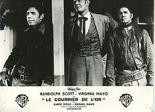 RANDOLPH SCOTT WESTBOUND 1959 VINTAGE PHOTO FRENCH LOBBY CARD N°4