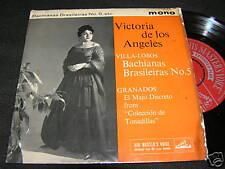 "VICTORIA DE LOS ANGELES Bachiaanas Brasileiras No.5 7"""