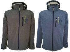 Dry Fashion Herren Softshell Jacke Helgoland Atmungsaktiv + Wasserabweisend